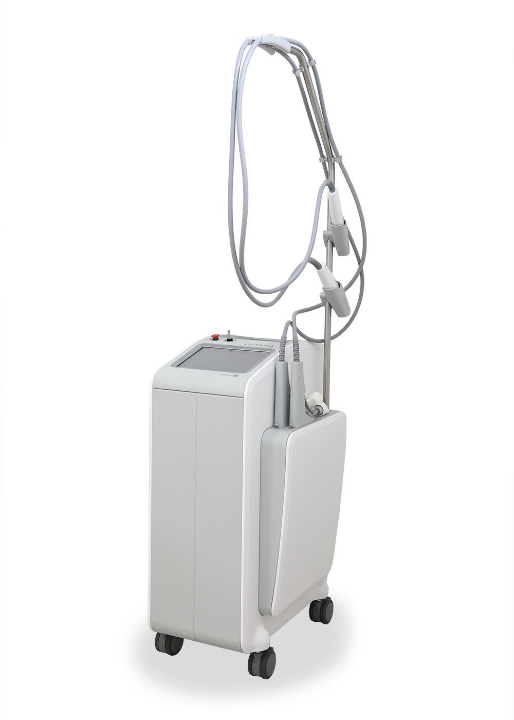 ロングパルスKTP+ロングパルスYAGレーザー(キュテラ社 エクセルV)
